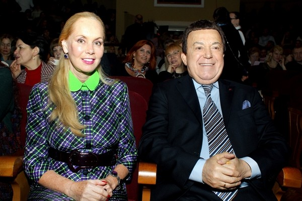 Иосиф Кобзон с супругой Нелли