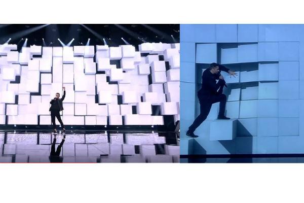 Выступление Овига (слева) и Сергея (справа)