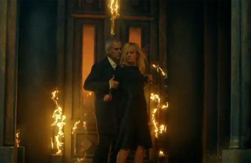 Кадр из клипа Валерии и Валерия Меладзе