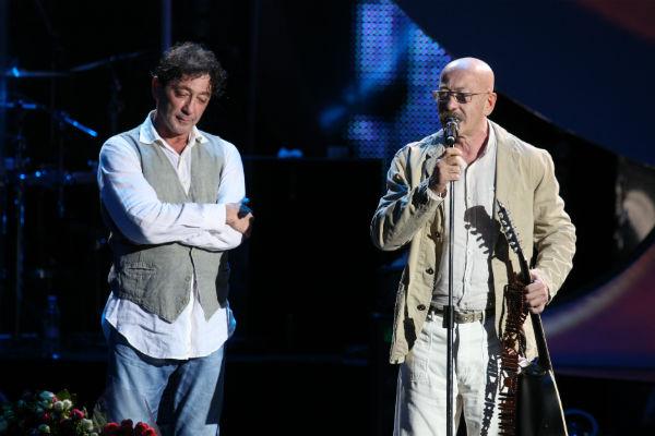 Яркое шоу певца не мог пропустить и Александр Розенбаум