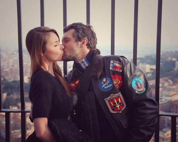 Юлия Мельникова и Павел Трубинер