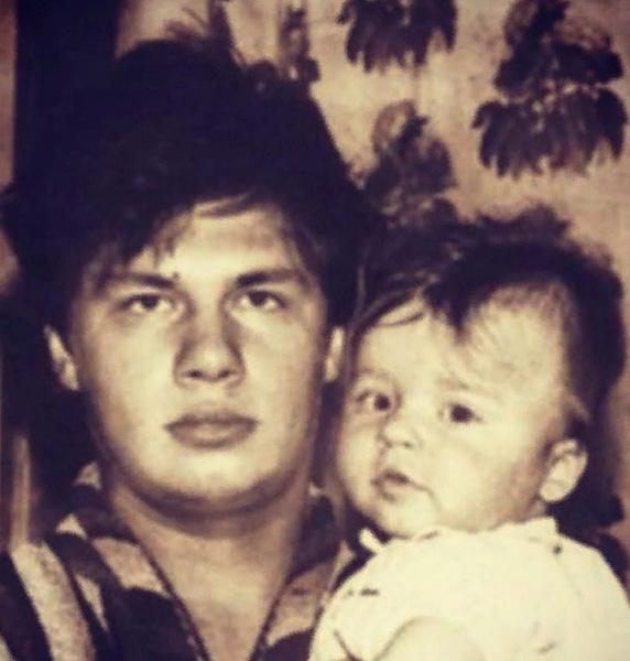 Гарик Харламов с отцом