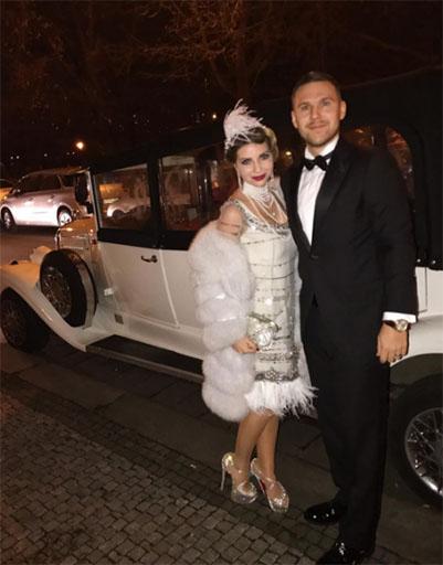 Галина Юдашкина с мужем Петром Максаковым