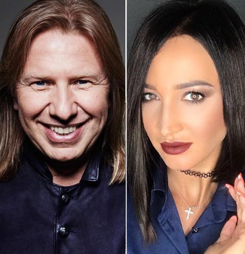 Виктор Дробыш и Ольга Бузова