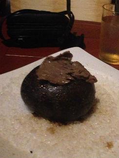 Мясо, пожаренное на камне
