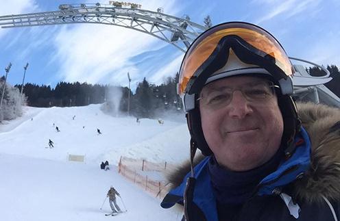 Алексей Лысенков в австрийских Альпах