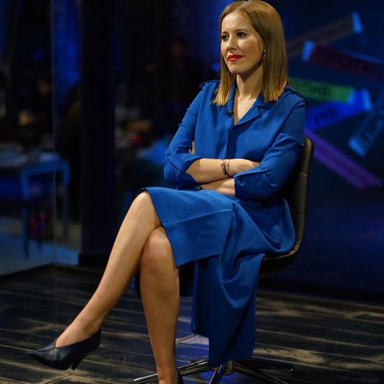 Ксения Собчак в гостях у Владимира Познера