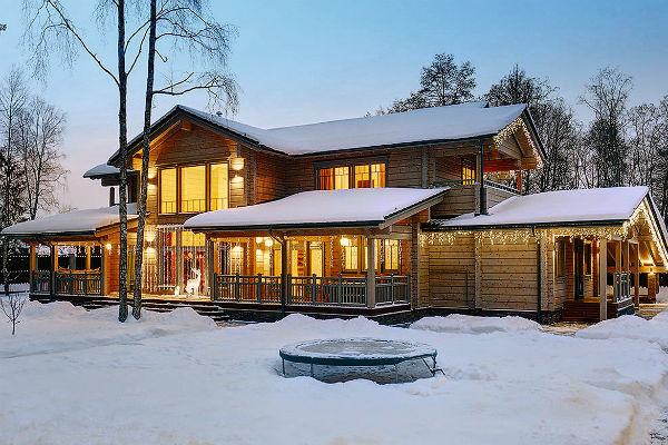 Новый дом будет полностью построен из экоматериалов
