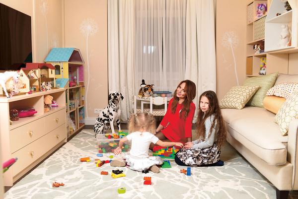 Детская игровая общая, она расположена между спальнями девочек