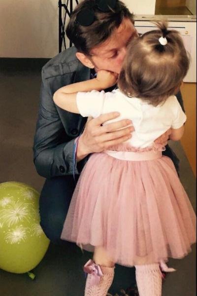 Павла Волю переполняет любовь к дочери