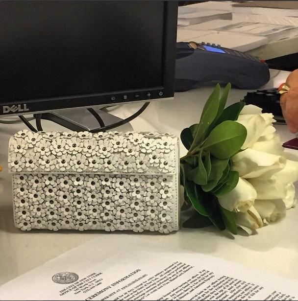Букет невесты Кати Спиваковой