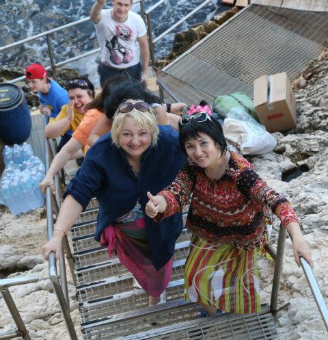 Победители наслаждаются отдыхом на Сардинии
