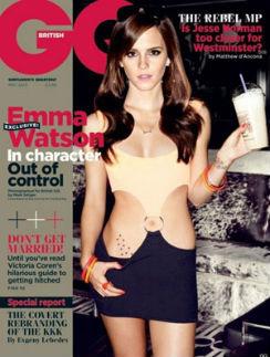 Эмма Уотсон на обложке журнала в образе Робертс
