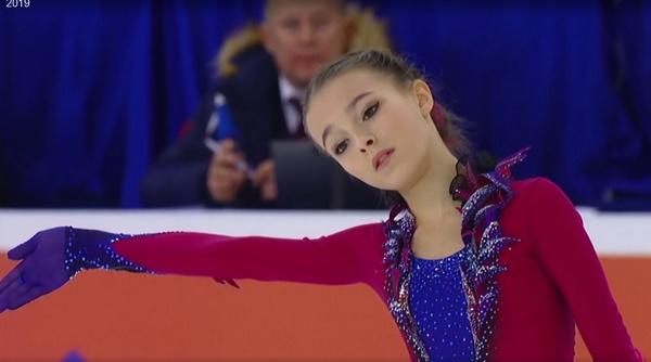 Анна Щербакова — будущая звезда фигурного катания