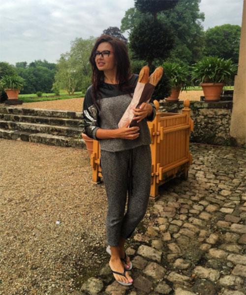 Актриса обожает французские багеты