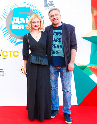 Карина Мишулина с мужем