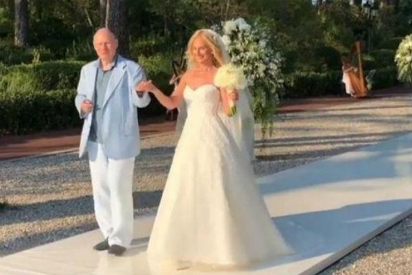 На момент свадьбы Анастасии было 34 года
