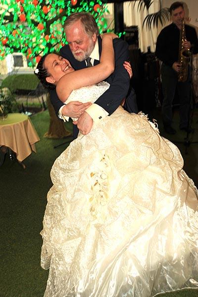 Александр и Агата поженились летом 2012