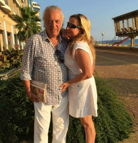 Илья Резник с супругой Ириной Романовой на отдыхе