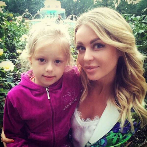 Дочь Андрея Чуева Лиза с Кристиной