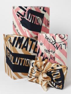 Основное назначение платков Lush - оборачивать подарки