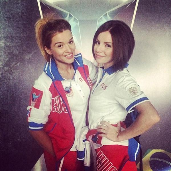 Ксения Бородина и Юля Волкова - только вперед!