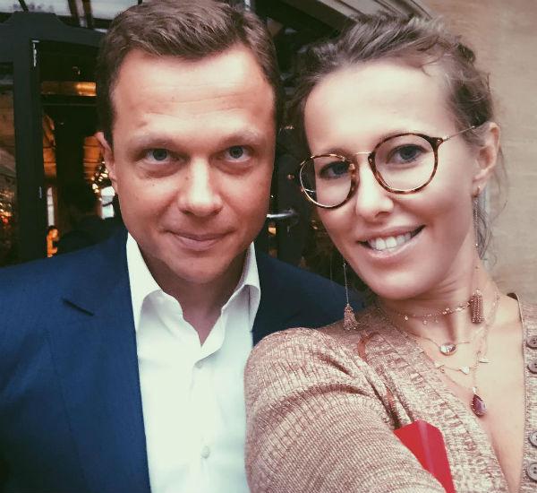 Ксения Собчак спровоцировала мужа фотографией с Максимом Ликсутовым
