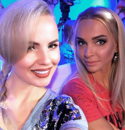 Александра Харитонова и Наталья Варвина