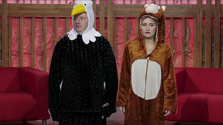 Обезьяна и Орел не могут обрести гармонию в отношениях