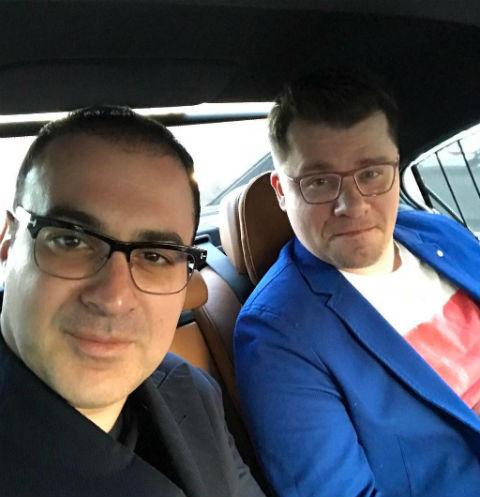 Гарик Мартиросян и Гарик Харламов