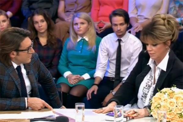 Любовь Казарновская в гостях на программе Андрея Малахова