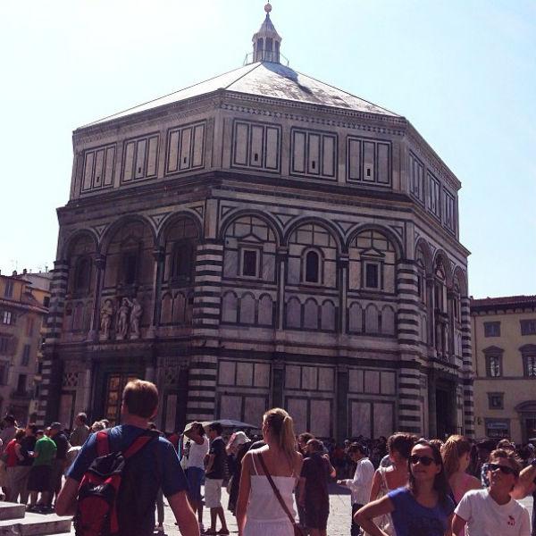 Асмус давно мечтала попасть во Флоренцию