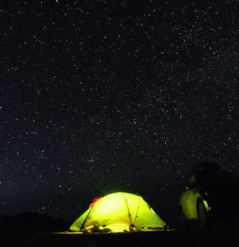 Палатка в Монголии