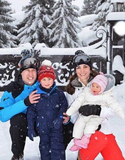 Часто королевская семья отдыхает вместе на лучших курортах мира