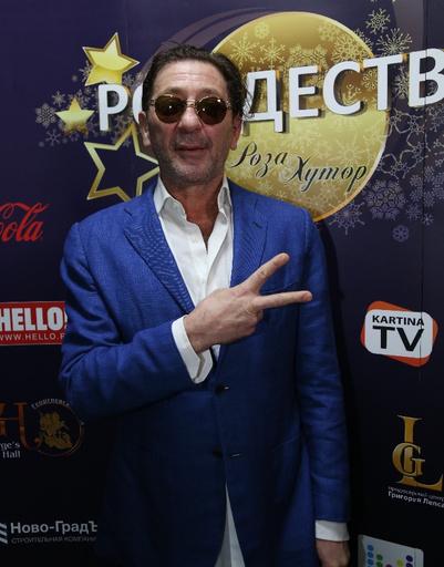 Певец и композитор Григорий Лепс