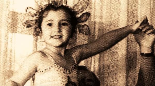 Ира Аллегрова в детстве