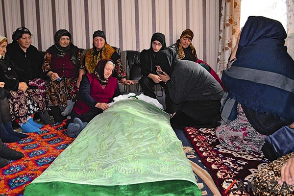 Похороны Зиты прошли в ее родном селе