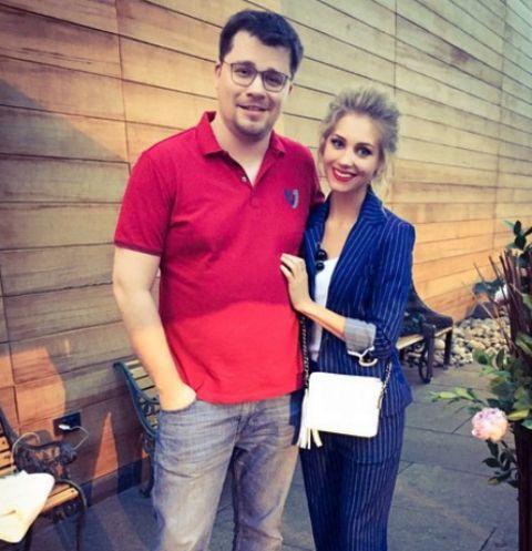 Кристина Асмус с мужем Гариком Харламовым