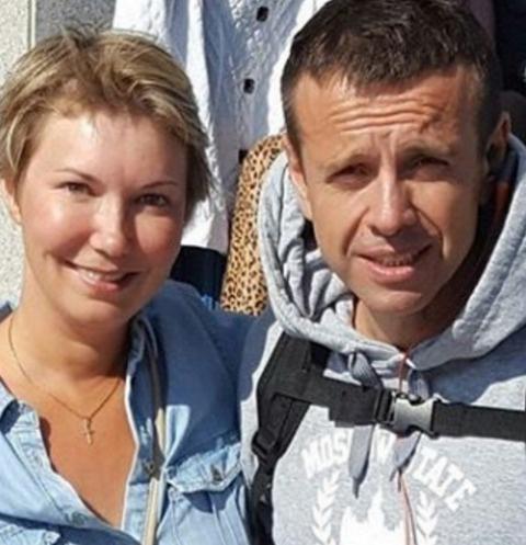 Андрей Губин с поклонницей в Сочи