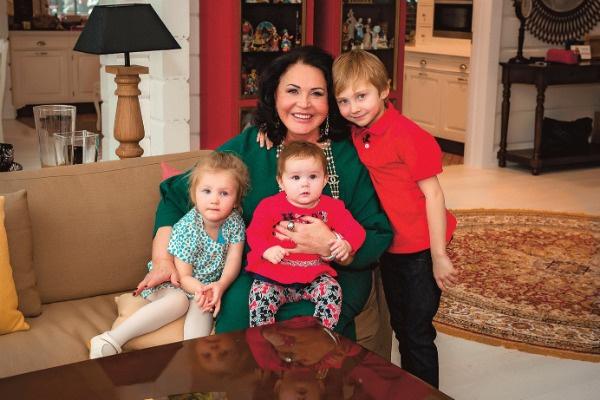 Надежда Георгиевна назвала внуков, следуя советам Клары
