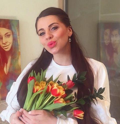 Ольга Рапунцель описала свою дочь