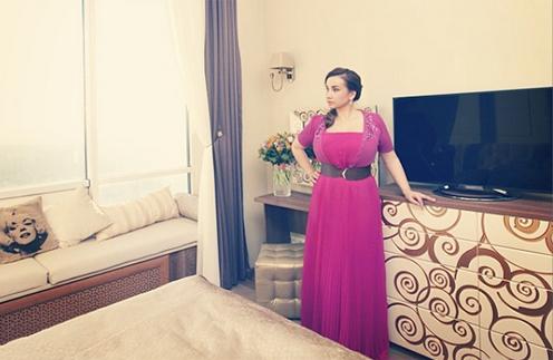 Анфиса Чехова демонстрирует собственную спальню