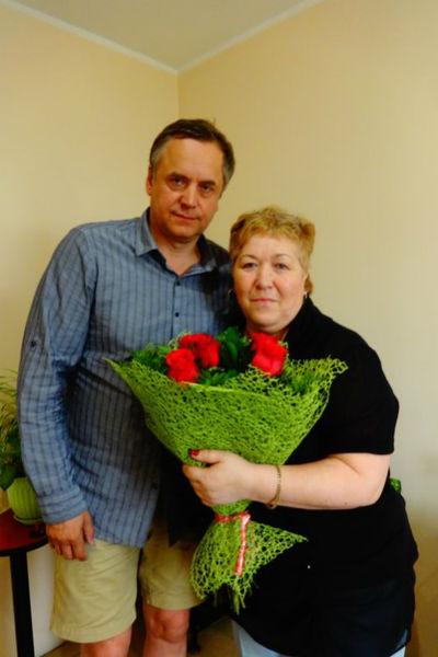 Андрей Соколов с экстрасенсом Татьяной Рождественской