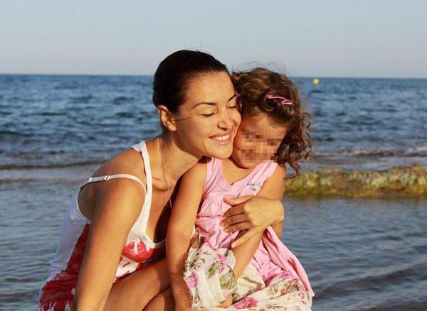 Марианна Суворова с дочерью Софией