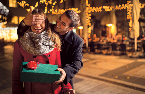 Важен не только подарок, но и то место, где вы его собираетесь вручать