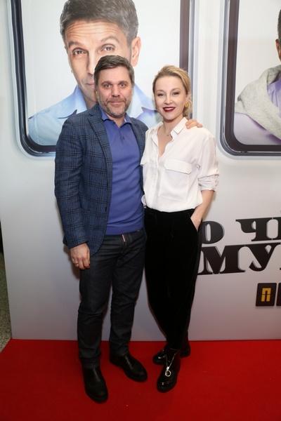 Ольга Медынич с супругом Джемалом Тетруашвили