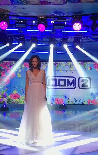 Ольга Бузова на съемках реалити-шоу «Дом-2»