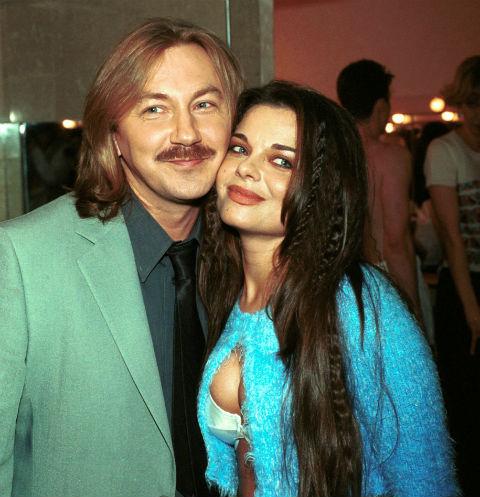 Игорь Николаев и Наташа Королева много лет назад
