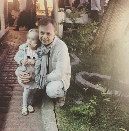 Владимир Левкин с дочерью Никой