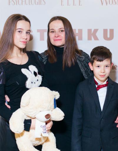 Анна Бугаева с детьми
